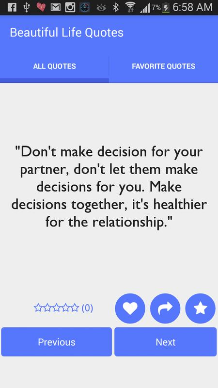 Beautiful Life Quotes For Android Apk Download