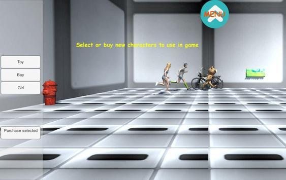 Maze Adventure:SciFi TPS shoot poster