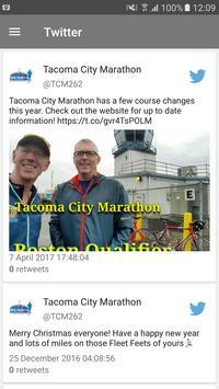 Tacoma City Marathon apk screenshot