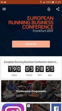 Running Business Conference poster