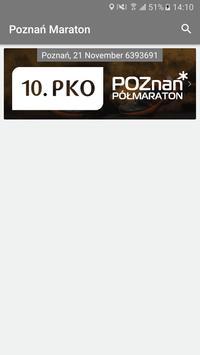 Poznań Maraton 2018 poster