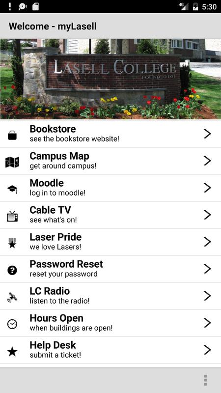 My Lasell For Android Apk Download