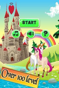 My Little Unicorn Dash Runner poster