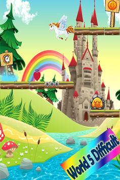 My Little Unicorn Dash Runner apk screenshot