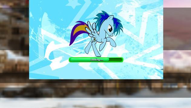 Little Unicorn Pony Fights 2D screenshot 3