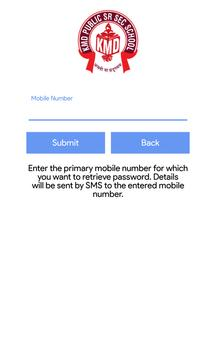 KMD School App screenshot 1