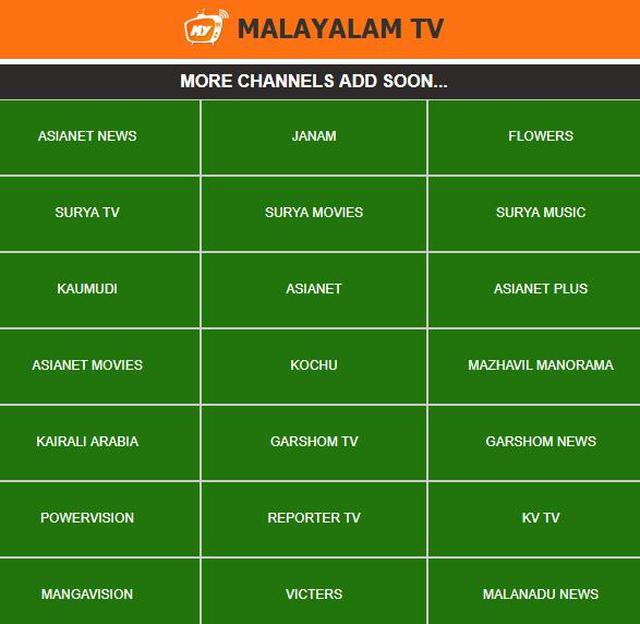 My Malayalam TV for Android - APK Download