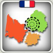 Regions Departements Quiz icon
