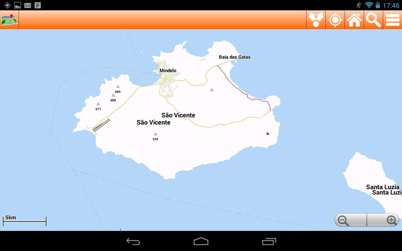 Cape Verde Offline mappa Map für Android - APK herunterladen