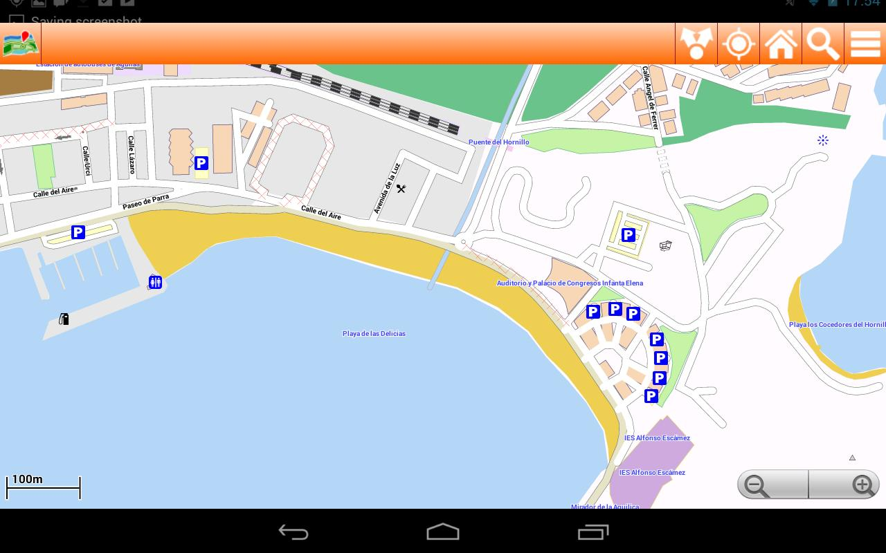 Costa Calida Offline Mappa Map For Android Apk Download