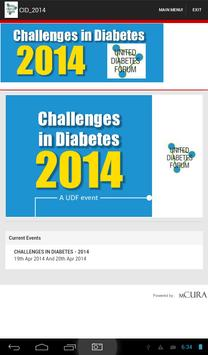 Challenges In Diabetes - 2014 apk screenshot