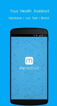 MyMedisyn - Health assistant poster