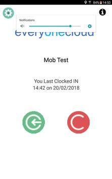 EveryOneCloud Employee Application apk screenshot
