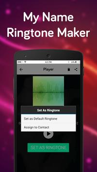 My Name RingTone Maker screenshot 3