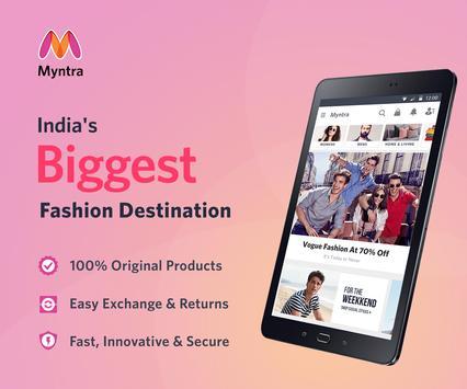 Myntra Online Shopping App apk screenshot