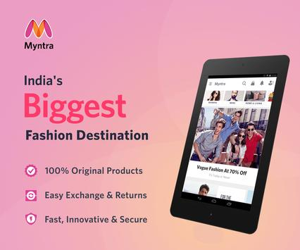 Myntra Online Shopping App apk screenshot