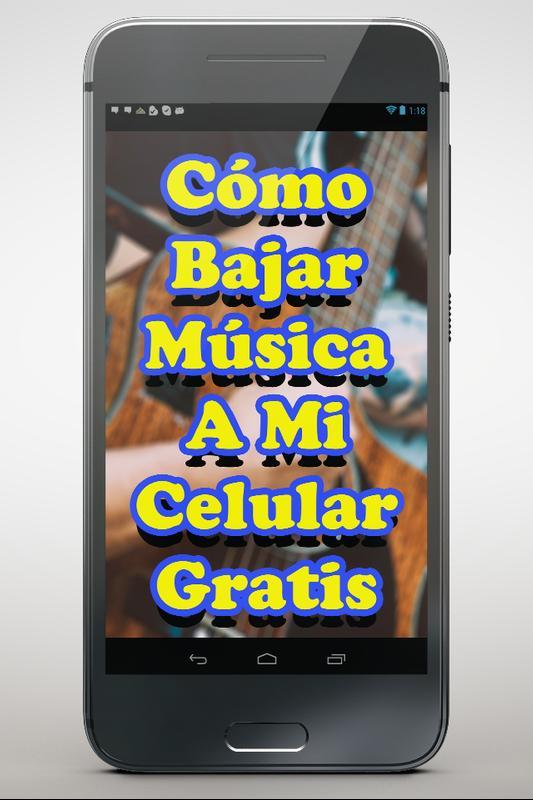 bajar musica a mi celular android gratis