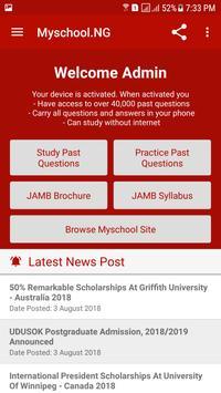 JAMB CBT Past Questions apk screenshot