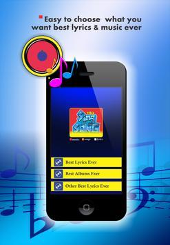 Coldplay Lyrics screenshot 4