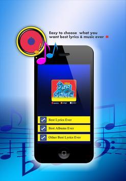 Celine Dion Lyrics & Musics apk screenshot