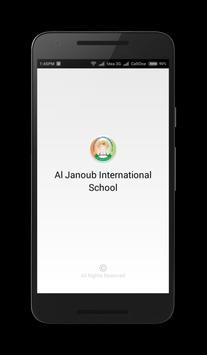 Janoub International School poster