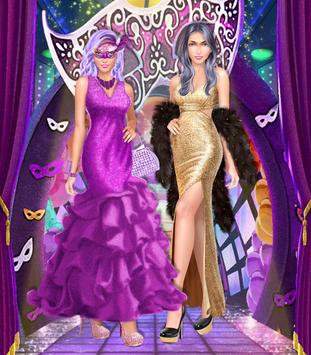 New Year Winter Party Girl apk screenshot