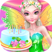 Fairy Girls Birthday Makeover icon
