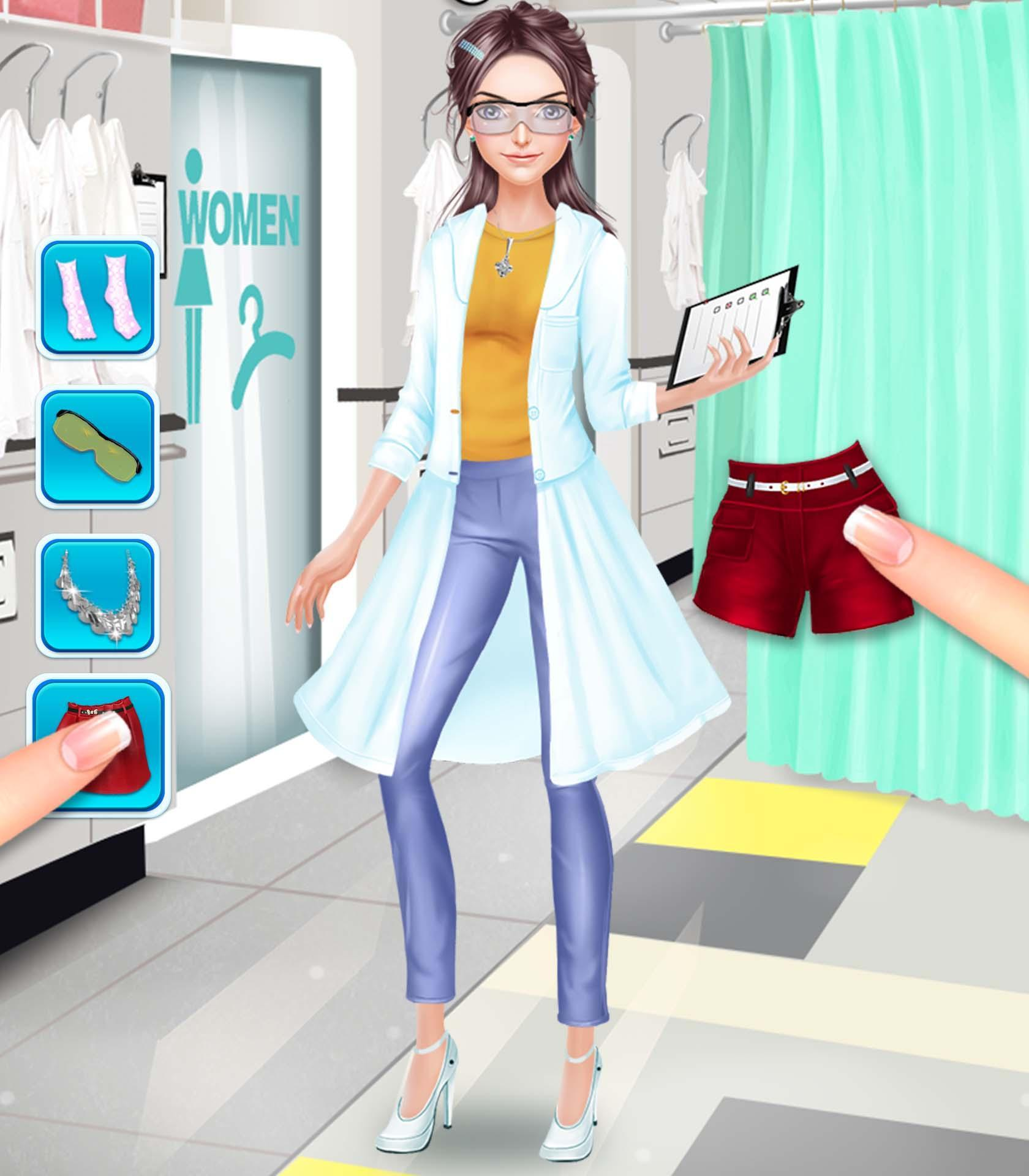 Scientist Girls Fashion Salon For Android Apk Download