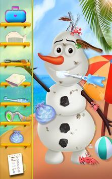 Summer Snowman Salon poster