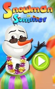 Summer Snowman Salon screenshot 1