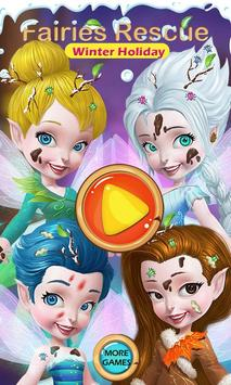 Fairies Rescue- Winter Holiday screenshot 2