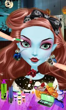 Zombie Babes Fashion Salon SPA poster