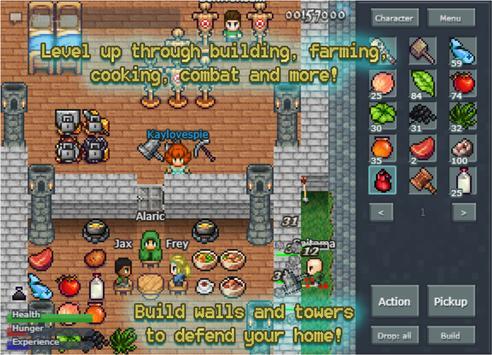 Mystera Legacy - MMORPG Sandbox APK-screenhot