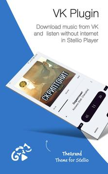 Music from VKontakte for Stellio Player poster