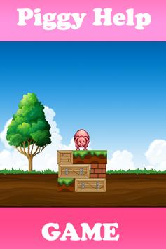 piggy help poster
