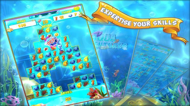 Aqua Adventures - Match 3 Game imagem de tela 10
