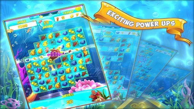 Aqua Adventures - Match 3 Game imagem de tela 1