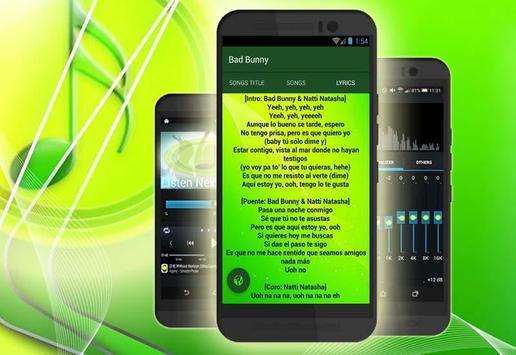 (Nuevo) Bad Bunny Musica apk screenshot