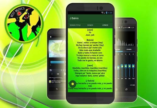 (Nuevo)J Balvin-Machika (ft.Anitta,Jeon) screenshot 4