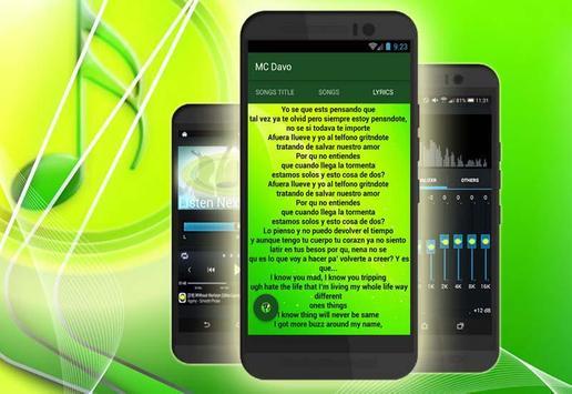 (Nuevo) MC Davo Musica screenshot 3