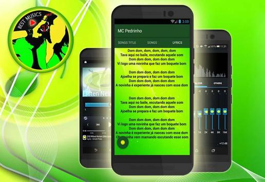 MC Pedrinho Letras de Canciones screenshot 4