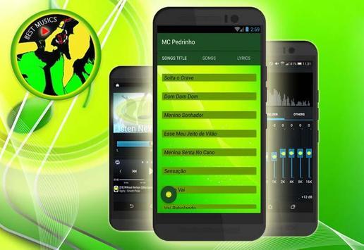 MC Pedrinho Letras de Canciones screenshot 3