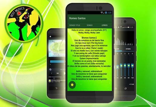 "Romeo Santos(Musica)-""Bella y Sensual"" apk screenshot"