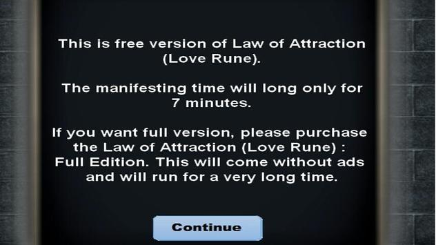 Law of Attraction (Love Rune) apk screenshot