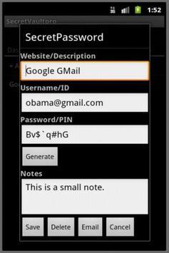 SecretVaultpro(free) screenshot 5