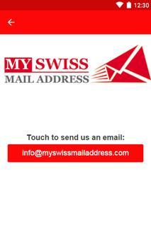 My Swiss Mail Address apk screenshot
