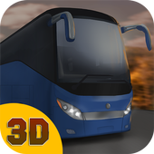 City Bus Driving Simulator 3D icon