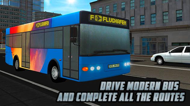 City Bus Driving Simulator 3D poster