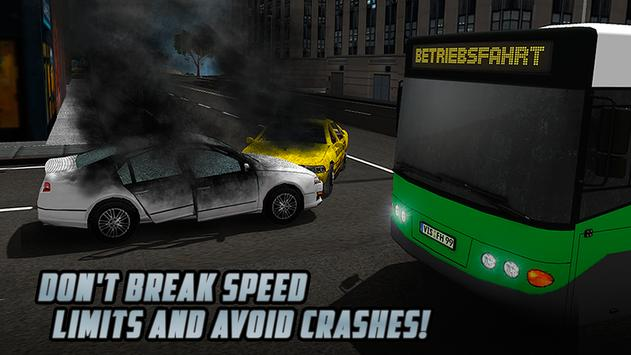 City Bus Driving Simulator 3D apk screenshot