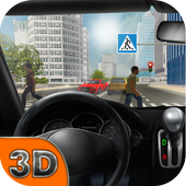 Extreme Driving School Test 3D icon